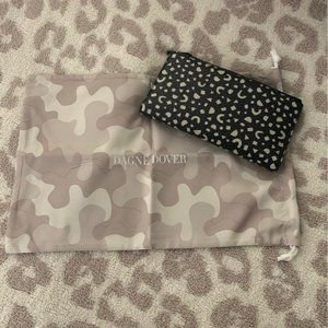 NWT Dagne Dover Leather Slim Wallet